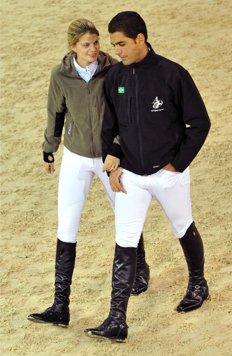 ATHINA ONASSIS LOVES HORSES AND HER HUSBAND