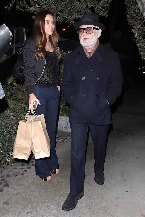 Joe Pesci had dinner in West Hollywood with an attractive young woman- and  it looks like they took some food home. You haven't seen the Goodfellas  star ...