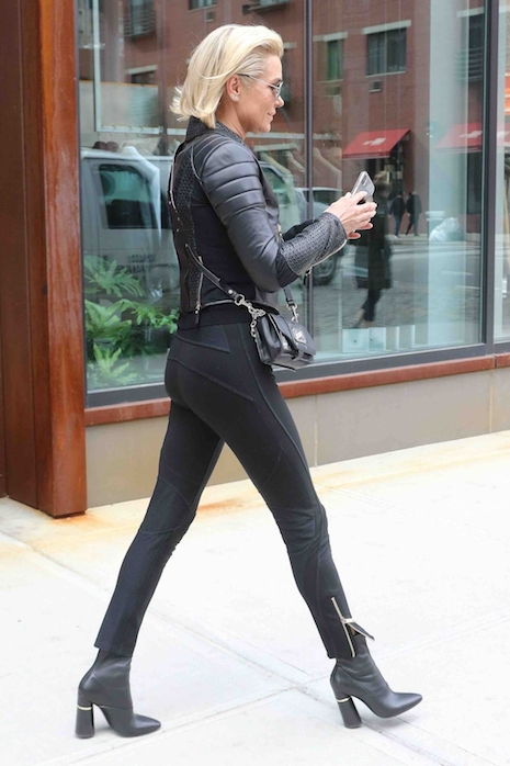 She may look fantastic, but Gigi Hadid's mom Yolanda, 54, is still a caring  mother. She turned up at Gigi's NYC apartment with coffee the day after  Gigi and ...
