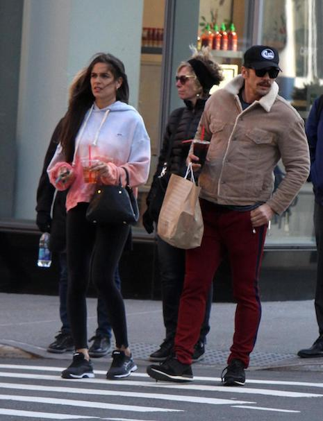 James Franco, 40, looks like he's still very much in character for his role  as a 1970's pornographer in The Deuce. He's in New York with his girlfriend  of ...