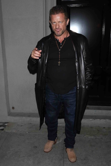 Australian born Costas Mandylor was a pretty boy when he started out in  Hollywood and he was one of People magazine's 50 Most Beautiful People in  1991 ...