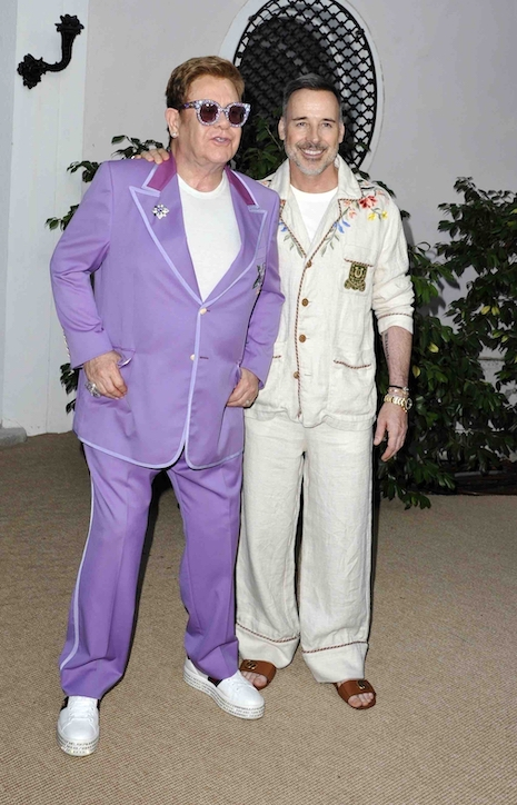 41a6ccb0 Granted, Elton John's hair looks really good, but his taste in fashion is  starting to rival our Worst Dressed Celebrity, Justin Bieber, who also  favors ...