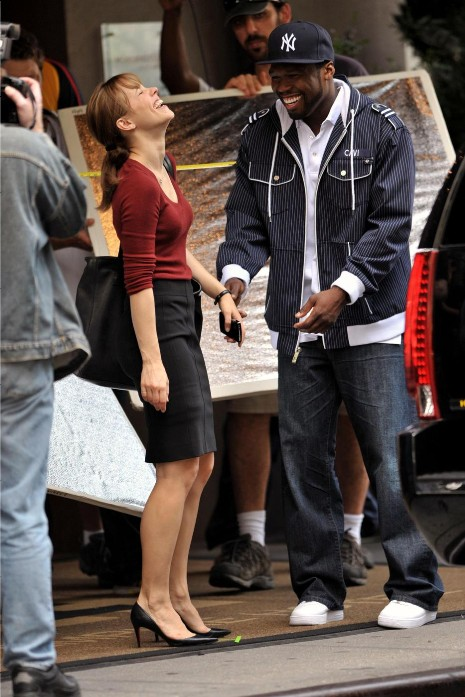 RACHEL McADAMS AND 50 CENT: WHAT'S SO FUNNY?