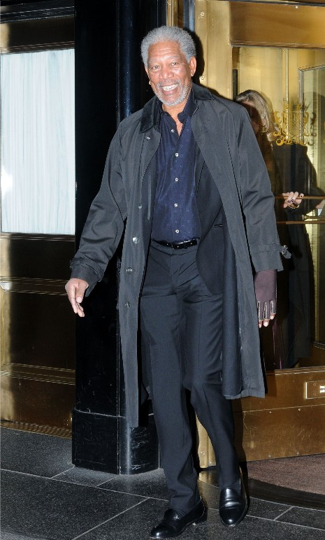 TopOveralls: morgan freeman left hand - photos
