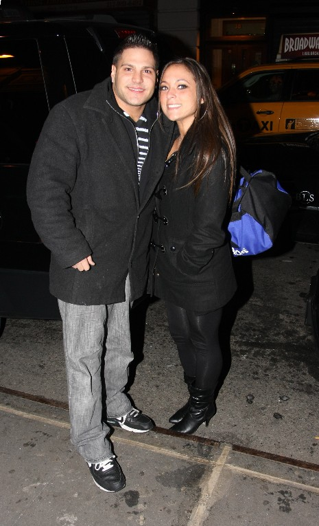Yes, although summer at Jersey Shore has turned to winter, Ronnie and Sammi