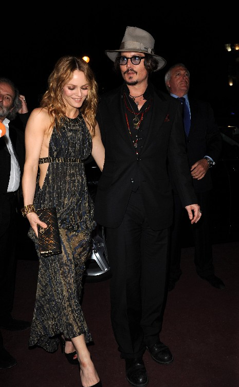 JOHNNY DEPP AND VANESSA
