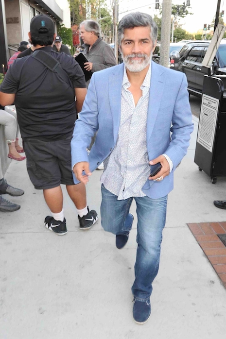 c8f39d805717eb As beards go, we've seen much worse examples than this facial hair sported  by Esai Morales. Of course this grey beard IS hiding the face of one of the  ...