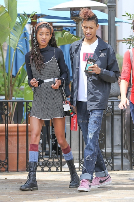 9c7bcfd9ae5a6 Willow Smith is 17 now and she has a boyfriend who looks like JUST her  type. They ve been together for a few months- he s 19 year old Tyler Cole
