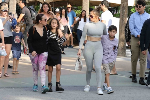 69bd73da45c1a To say the least, Jennifer Lopez made no attempt to disguise herself as she  shopped on Lincoln Road in Miami. Many shoppers ogled as Jen and her kids  Max ...
